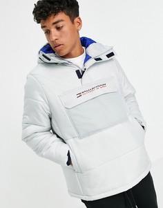 Утепленная куртка Tommy Hilfiger Sport-Голубой