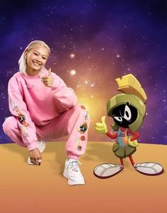 Розовые джоггеры от комплекта ASOS DESIGN Space Jam: A New Legacy-Розовый цвет