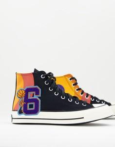 Черные высокие кроссовки Converse Chuck 70 Space Jam: А New Legacy-Черный цвет