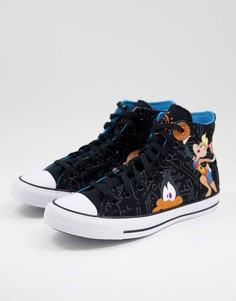 Черные высокие кроссовки Converse Chuck Taylor All Star Space Jam: А New Legacy-Черный цвет