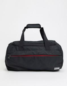 Черная спортивная сумка Ben Sherman City-Черный цвет
