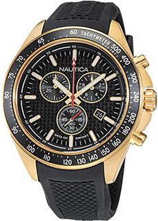 Швейцарские наручные мужские часы Nautica NAPOBS110. Коллекция Ocean Beach