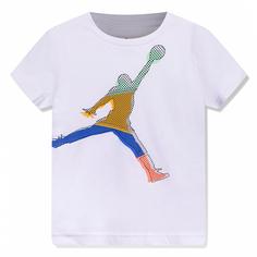 Детская футболка Mismatch Stack Short-Sleeve Tee Jordan