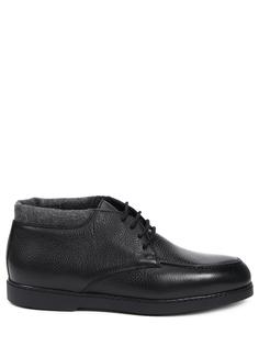 Ботинки кожаные на байке Doucal's