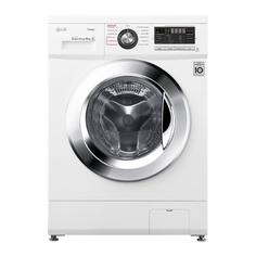 Узкая стиральная машина LG с функцией пара Steam F1096SDS3