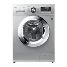 Узкая стиральная машина LG с функцией пара Steam F1296HDS4