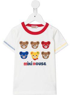 Miki House футболка с нашивками
