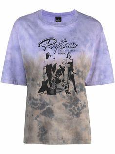 Pinko футболка с принтом Rapture