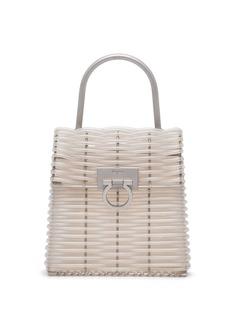 Salvatore Ferragamo Pre-Owned сумка с декором Gancini