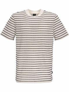Boss Hugo Boss футболка в полоску