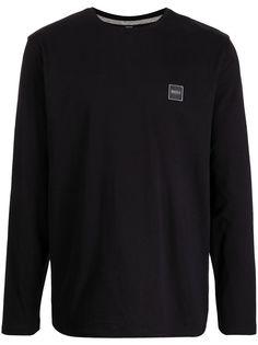 BOSS футболка Tacks с длинными рукавами