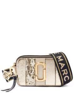 Marc Jacobs сумка The Snapshot с эффектом металлик