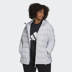 Пуховик с капюшоном Helionic (Plus Size) adidas Sportswear