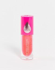 Блеск для губ Revolution – Juicy Bomb (Grapefruit – Грейпфрут)-Оранжевый цвет