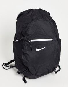 Черный компактный и легкий рюкзак Nike Stash-Черный цвет