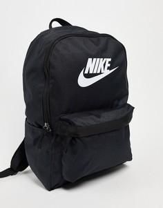 Черный рюкзак Nike Heritage-Черный цвет