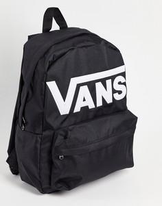 Черный рюкзак Vans Old Skool Drop V-Черный цвет