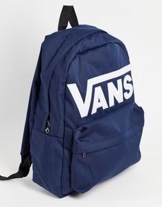 Темно-синий рюкзак Vans Old Skool Drop V