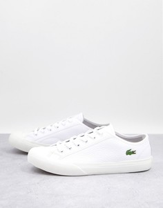 Белые кроссовки Lacoste Topskill-Белый