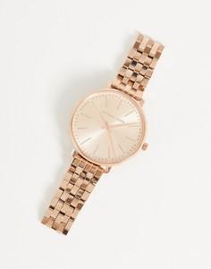 Наручные часы цвета розового золота Michael Kors Pyper MK3897-Золотистый