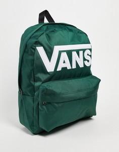 Зеленый рюкзак Vans Old Skool III-Зеленый цвет