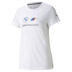 Футболка BMW M Motorsport Essentials Logo Womens Tee Puma
