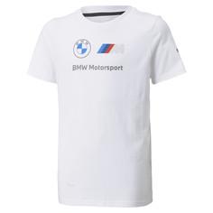 Детская футболка BMW M Motorsport Essentials Logo Youth Tee Puma