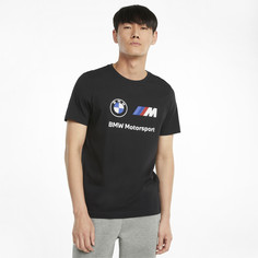 Футболка BMW M Motorsport Essentials Logo Mens Tee Puma