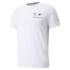 Футболка BMW M Motorsport Essentials Small Logo Mens Tee Puma