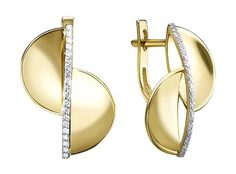 Золотые серьги Серьги Ювелирные Традиции S312-6179