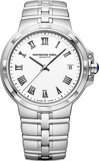 Швейцарские мужские часы в коллекции Parsifal Мужские часы Raymond Weil 5580-ST-00300