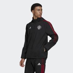 Куртка всепогодная Манчестер Юнайтед Tiro adidas Performance