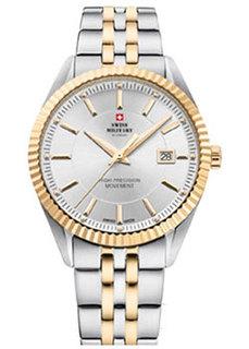 Швейцарские наручные мужские часы Swiss military SM34065.05. Коллекция Сверхточные