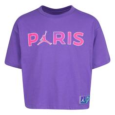 Подростковая футболка Paris Saint-Germain Boxy Tee Jordan