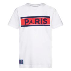 Подростковая футболка Paris Saint-Germain Bars Tee Jordan