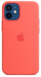 Чехол Apple Silicone Case with MagSafe MHKP3ZE/A для iPhone 12 mini pink citrus