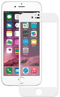 Защитное стекло TFN SP-07-006G3W 3D, iPhone 8/7/6S, белый