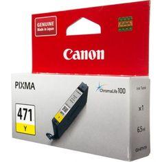 Картридж Canon CLI-471 Y