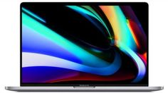"""Ноутбук 16"""" Apple MacBook Pro 16 with Touch Bar Z0XZ001FS i7 2.6GHz/64GB/512GB SSD/Radeon Pro 5500M 8GB, Space Grey"""