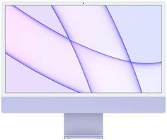 Моноблок 24'' Apple iMac with Retina 4.5K Z130000BK/Z130 M1 chip with 8‑core CPU and 8‑core GPU/8GB/256GB SSD/Purple