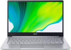 "Ноутбук Acer Swift 3 SF314-42-R4RZ NX.HSEER.00K Ryzen 5 4500U/8GB/256GB SSD/noODD/Radeon Graphics/14"" FHD/WiFi/BT/Cam/Win10Home/silver"