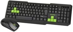 Клавиатура и мышь SmartBuy One SBC-230346AG-KN черно-зеленый