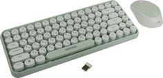 Клавиатура и мышь Wireless SmartBuy SBC-626376AG-M мятно-белый