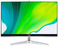 Моноблок 21,5'' Acer Aspire C22-1650 DQ.BG7ER.007 i3 1115G4/4GB/1TB/UHD Graphics/1920*1080/CR/GbitEth/WiFi/BT/клавиатура/мышь/cam/Win10Home/серебристы