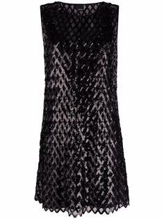 Pinko платье мини с пайетками