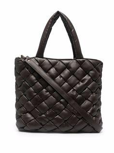 Officine Creative плетеная сумка-тоут