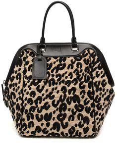 Louis Vuitton сумка-тоут North South 2012-го года с анималистичным принтом