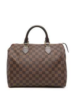 Louis Vuitton сумка Damier Ebène Speedy 30 2010-х годов