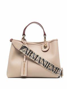 Emporio Armani сумка-тоут среднего размера