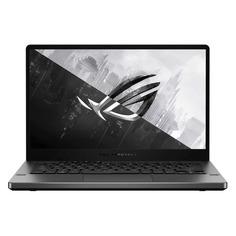 "Ноутбук ASUS ROG Zephyrus GA401IHR-K20400, 14"", IPS, AMD Ryzen 7 4800HS 2.9ГГц, 8ГБ, 512ГБ SSD, noOS, 90NR07H3-M00820, серый"